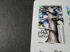 FRANCE, 2018, timbre AUTOADHESIF LES ARBRES, CHENE PEDONCULE' QUERCIA neuf** MNH