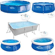 Piscine ronde/ rectangulaire tubulaire ou autoportante Pool Hors Sol Pataugeoire