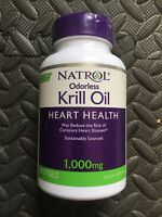 Natrol Odorless Krill Oil 1000mg 30 Softgels