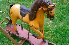 Wooden Horse Rocking Horse Merry-Go-Round Horse