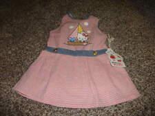 NWT NEW MISHA LULU HELLO KITTY 12-18 STRIPED DRESS