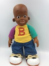2001 Mattel Little Bill Talking Friend Toy Plush Cosby Nickelodeon Collectible