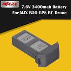 Original  MJX B20 7.6V 3400mAh Li-po Battery For MJX B20 GPS Brushless RC Drone
