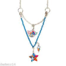 My Little Pony Rainbow Dash Girl's Necklace Equestria Girls 3 in 1 Hasbro MLP