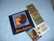 ANDREA PAZIENZA MOSTRA MILANO SPAZIO ANSALDO 1992 CON FLYER E CARTOLINE MOSTRA