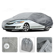 Car Cover for Acura TL 01-14 Outdoor Breathable Sun Dust Proof Auto Protection