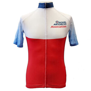 RAF Association cycle jersey athletic top sports Royal Air Forces Association
