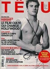 French Gay Magazine TETU MAGAZINE March 2006 3/06 Gay Interest B-5-3