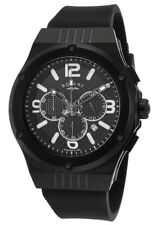 Rotary GS03623/C/19 Men's Fusion IP Plated Black Chronograph Swiss Watch NEW