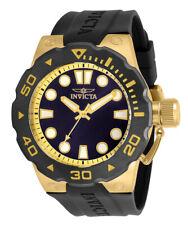 Invicta Pro Diver Men 51mm Stainless Steel Gold Blue Dial Quartz 30721