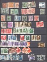 ITALY 2 PACKED STOCK PAGES COLLECTION LOT EARLY ISSUES THROUGH 1950s