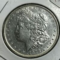 1878 MORGAN SILVER DOLLAR HIGH GRADE COIN