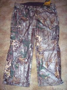 Browning Camo Pants Mens 2X Camo Pants Realtree Camo Scent Control Hunting Pants