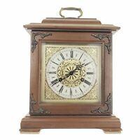 Vintage Hamilton Shelf Mantle Clock Two 2 Jewel West Germany 150-010 3 Chime