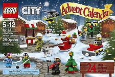 NEW LEGO CITY 2016 Advent Calendar 60133 Christmas Countdown Santa Tree Hockey