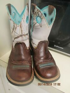 Womens Western Boots Ariat Fatbaby Comfort Fashion Boots 6.5 B