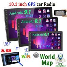 "Autoradio 2 Din 10.1"" Android 9.1 Touch screen stereo GPS Navi WIFI MP5 USB FM"