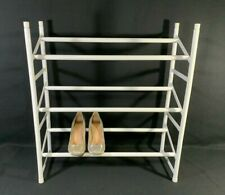 """ClosetMaid *3 Tier* Shoe Rack Stack Expand 25-45"""" 18 Pairs Shoes Organize 811100"""