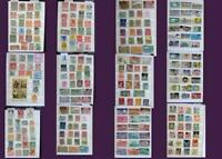 Great Stamp Collection From Austria Liechtenstein Belgium & United States