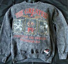 Muhammad Ali The Greatest Boxing Sweatshirt Macy's Vintage 90s Stonewash Large