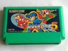 ROCKMAN 5 MEGAMAN for Nintendo Famicom NES Action Game /Cartridge only-B-