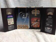 Star Wars The Phantom Menace on VHS Plus The Making Of Star Wars