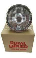 100% Genuine Royal Enfield Interceptor 650 Head Lamp Assembly With Bulb Black