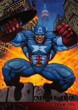 CAPTAIN AMERICA / Spider-Man Fleer Ultra 1995 BASE Trading Card #112