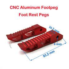CNC Aluminum Footpeg Foot Rest Pegs For 47cc 49cc Minimoto Dirt Pocket Bike Kids