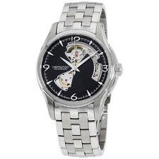 Hamilton Men's HML-H32565135 Jazzmaster Black Dial Watch