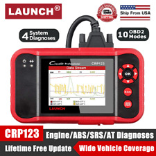Check Engine OBD2 Scanner Transmission ABS SRS Code Reader Diagnostic Scan Tool