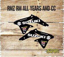 SUZUKI RM RMZ 65 85 125 250 450 RAD SCOOP STICKERS-MOTOCROSS-GRAPHICS-DECALS-B