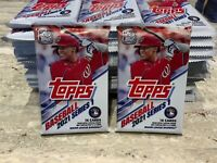 2021 Topps Baseball Series 1 Cello Packs 16 cards FREE SHIPPING