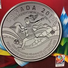 """2015 - $20.00 for $20.00 Canadian Commemorative Coin """" FIFA  Women's Cup """""""