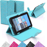 """Universal Faux Leather Stand Flip Case Cover 7"""" inch Android Tablet PC/iPad"""