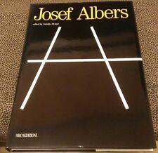 JOSEF ALBERS EDITED GETULIO ALVIANI l'ARCAEDIZIONI 1988 FIRST PRESS