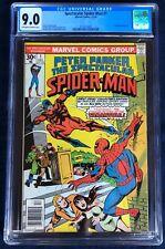 Spectacular Spider-man #1 CGC graded 9.0 Spiderman Marvel comics 12/76