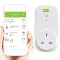 Efergy Ego Remote Control Energy Monitor Timer Socket Home Power Smart Plug Wifi