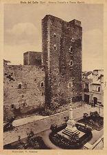 1232) GIOIA DEL COLLE BARI, ESTERNO CASTELLO E PIAZZA MARTIRI.