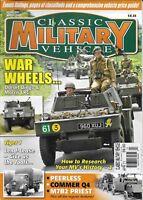 Classic Military Vehicle Magazine Dorset Dingo And Morris LRC Tiger I Peerless