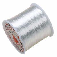 AU_ 80M / Roll Elastic Stretchy Beading Thread Cord Bracelet String Jewelry Maki
