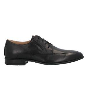 NERO GIARDINI Francesine nero scarpe uomo 1411 DryGo mod. E001411U