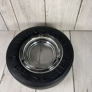 NASCAR Winston Cup Series 25th Anniversary Tire Ashtray 1995 RJRTC Preowned