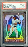 2019 Bowman Sterling Continuity Rays WANDER FRANCO Rookie Card PSA 9 MINT