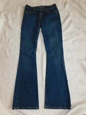 Womens Silver SPUR Jeans Size 26 x 33 Boot Cut EXCELLENT Stretch