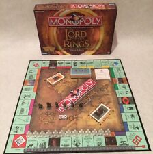 The Lord of the Rings Monopoly Board Game Trilogy Edition