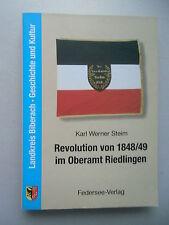 Revolution .. Riedlingen Landkreis Biberach Geschichte und Kultur 1998 Band 2