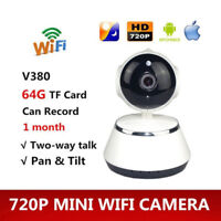 V380 Telephone APP  720P Mini IP Camera Wifi Camera de securite sans fil P2 T2