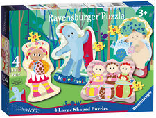 CHILDRENS IN THE NIGHT GARDEN 4 SHAPED JIGSAW PUZZLES RAVENSBURGER