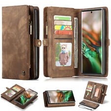 Leather Wallet Stand Card Slot Flip Case Cover For Samsung Note 10 9 8 S10 A80